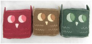 Little Owls Altogether by elbooga