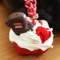 domokun cupcake necklace by AndyGlamasaurus