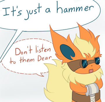 Flareon: It's just a hammer by Uluri