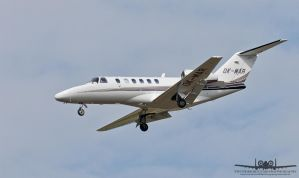 Cessna 525A CitationJet CJ2 OK-MAR by Thunderbolt120