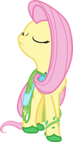 Snobby Fluttershy by TheSteelStallion