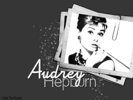 Audrey Hepburn Wallpaper by candygrrrl