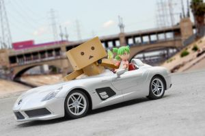 Grand Theft Danbo by phtoygraphy