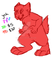 [YCH] Uncontrollable Temper AUCTION .:OPEN:. by CassMutt