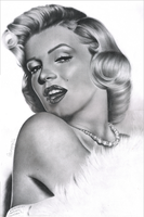 Marilyn Monroe by MaPaMe