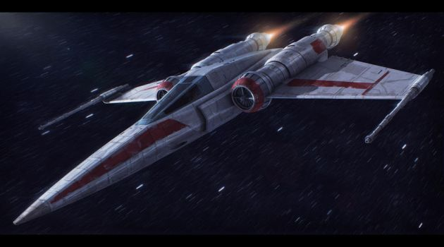 Star Wars Z-95 redesign by AdamKop