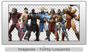 Pack Renders Mortal Kombat by TomhyLoquendo