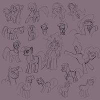 MLP Figure Drawing 01 by Celarx