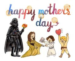 Star Wars Mothers' Day 2017 by amanda4quah