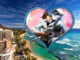 Tatsumi and Esdeath Wallpaper 2 by weissdrum
