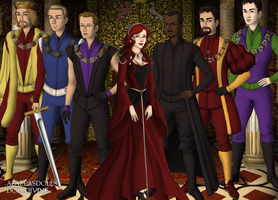 Medieval Avengers by Ignite-The-Spark