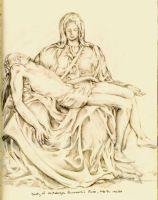 A study of Michelangelo by PatrickJoseph