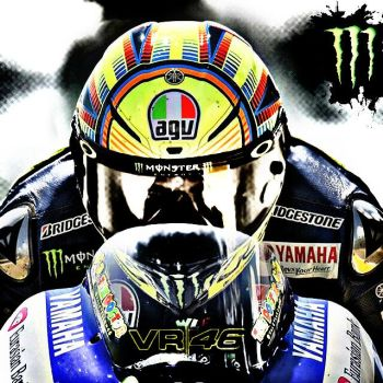 VR 46 ROSSI by MIGUELF22
