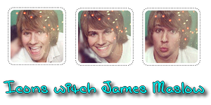 Icons witch James Maslow by busia11