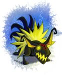 Heartless Comm 4 - Jolteon by LynxGriffin