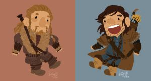 Fili and Kili! by knightJJ