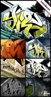 trs graffiti one by bebelikeart