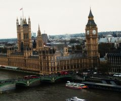 Palace of Westminster by MichelleMushroom