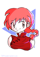 Ranma (my profile picture) by BuffChan