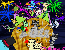 Happy New Year 2011 by ShikaTheMudkip
