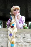 Rapunzel - Tangled by iDisneyx
