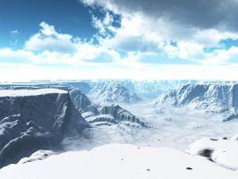 Cold mountains by indigodeep