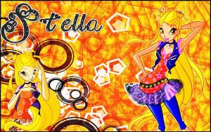 Winx club rock stella by AlexaSpears1333