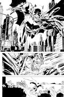 Jim Lee / Scott Williams batman page by Travinapple