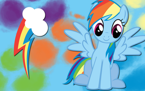 Rainbow Dash wallpaper 10 by AliceHumanSacrifice0