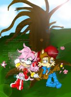 Sally and Amy - Quiet by AlmightyYing