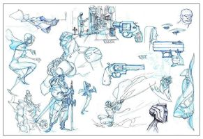 Sketches + assorted nonsense 3 by bolognafingers
