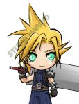 Cloud - FFVII by studiomarimo