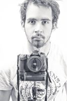 Self-portrait Dec 2011 III by TheSoftCollision