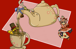 -Too much tea- by Ittermat