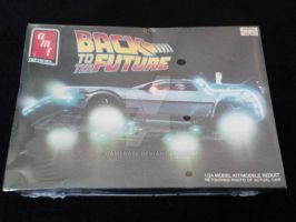 BTTF DeLorean Time Machine Model WIP 01 by gamera68
