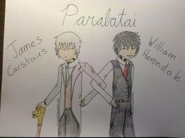 James Carstairs and William Herondale by CreamyXD