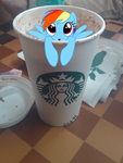 there is a pony in my chocolate milk by chibi95