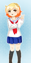 Kotoura-San by Shattered-Earth