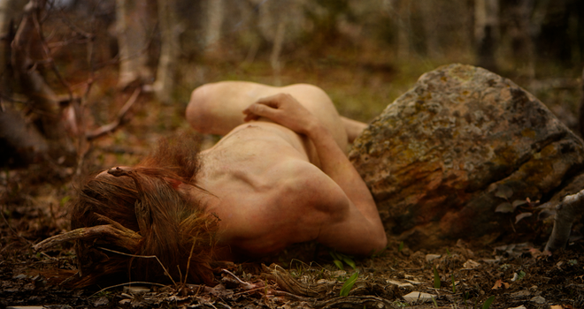 Resting Satyr by 3feathers
