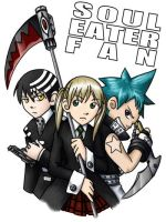 Soul Eater Fan Badge by ScuttlebuttInk