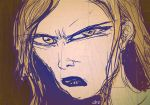 Angry Girl Quick Drawing by jimathers