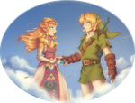 Collab with Zelbunnii - Ocarina of Time: Goodbye by Purrdemonium