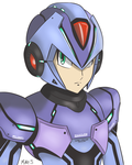 Megaman X ver KE by supereva01