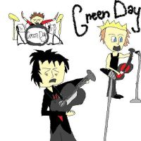 Chibi Green Day by lady5430