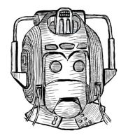 1980's Cyberman Helmet by jinkies36