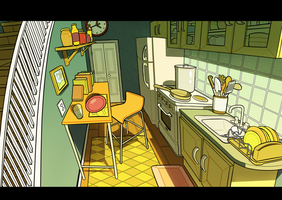 kitchen by jungkyard