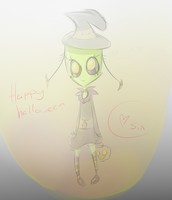 happy halloween sin by Nedrian