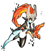 Imp Midna by Foxtail-89