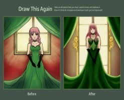 Draw this again: Emerald by Alislinn