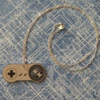 Super Nintendo Controller Necklace by PlayBox-Designs